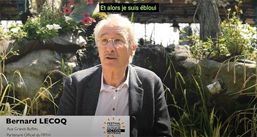 Témoignage Bernard Le Coq les Grands Buffets