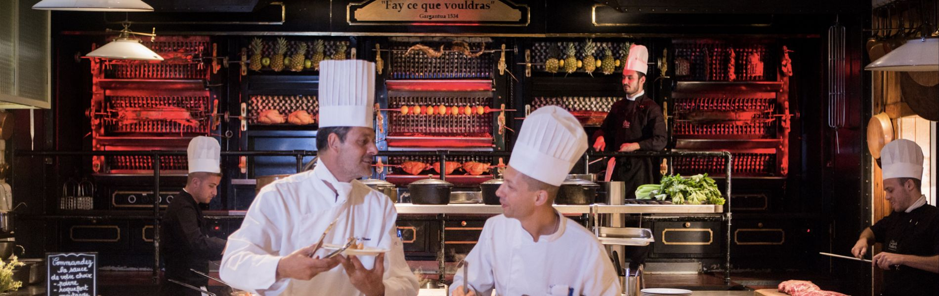 Repas de chef aux Grands buffets Narbonne