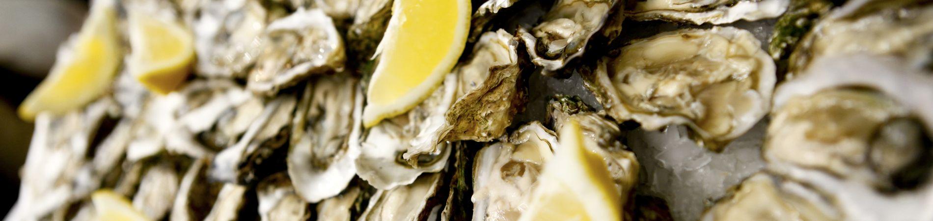 Las ostras des Halles de Narbonne