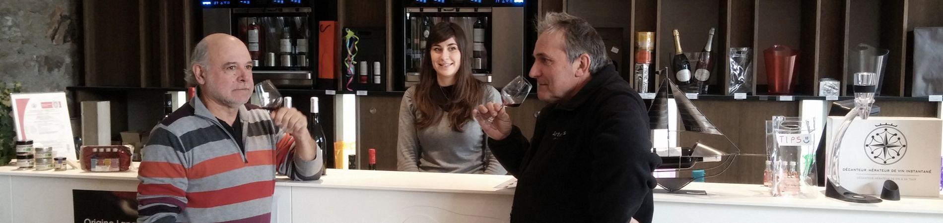 Déguster les vins du Grand Cellier