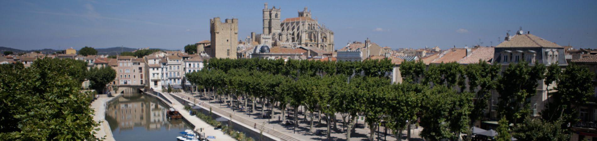 La ville de Narbonne