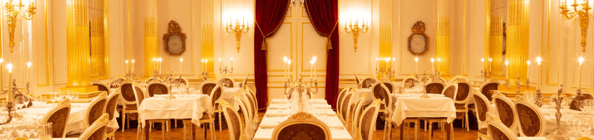 Le Salon Doré Jean de la Fontaine des Grands Buffets à Narbonne