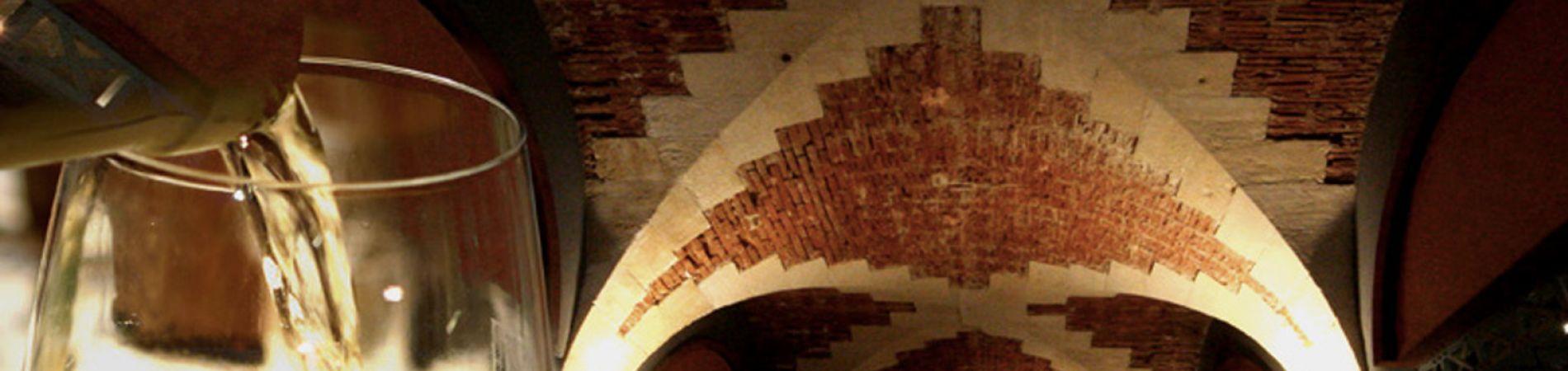 La bóveda del castillo de Ventenac.