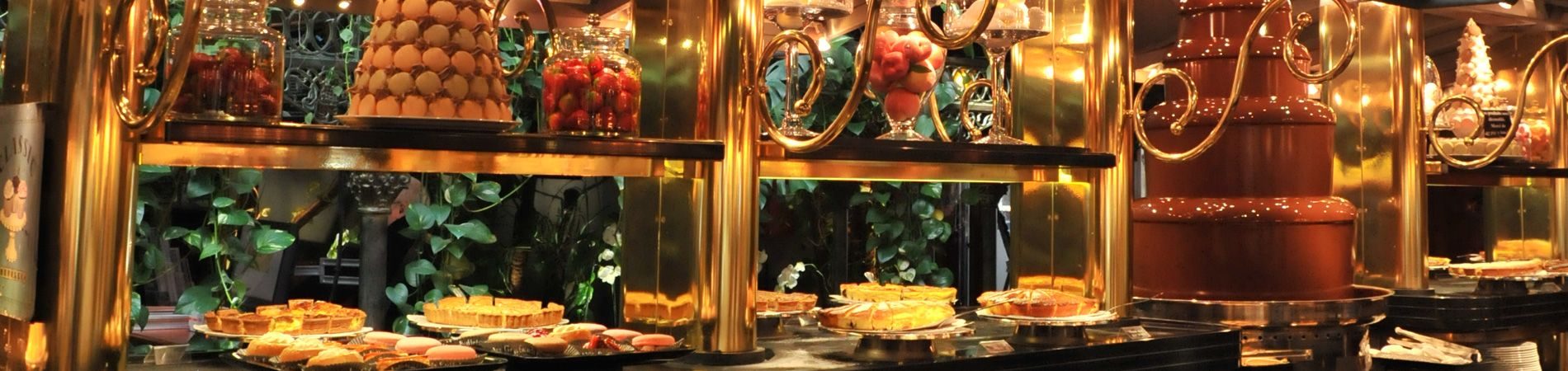 fuente de chocolate de Grands Buffets