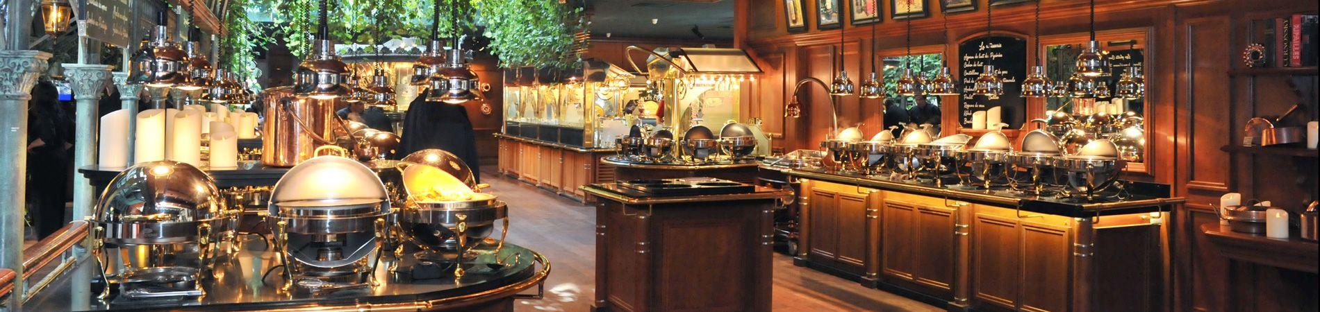 Un ambiente único para los grands buffets de Narbonne