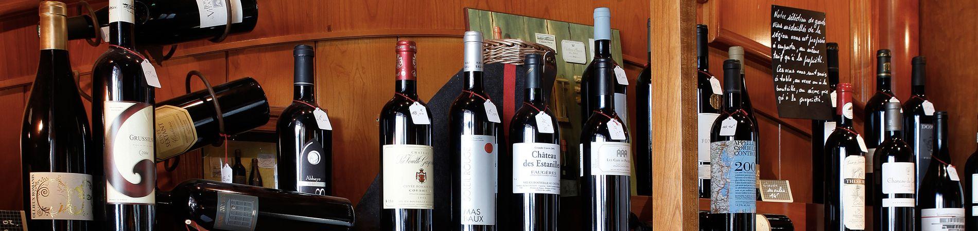 Les plus grands vins des producteurs du Languedoc-Roussillon aux grands buffets