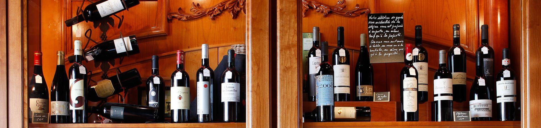 Découvrez les vins du Languedoc-Roussillon lors de votre repas aux grands buffets