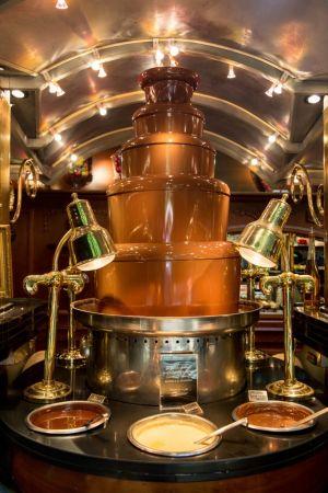La fontaine à chocolat des Grands Buffets