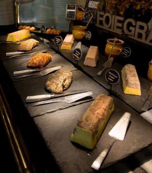 Buffet des foie gras aux Grands Buffets