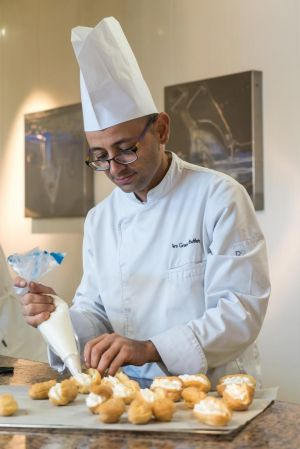 Olivier Quillaud, pâtissier aux Grands Buffets