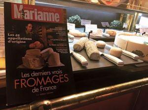 Les Grands Buffets dans Marianne spécial fromage