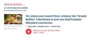 Les grands buffets Narbonne sur France Bleu Hérault