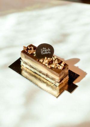 Le délice au caramel des Grands Buffets à Narbonne
