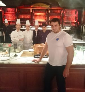 Damien Tussac aux grands Buffets
