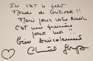 Dédicace Chantal Goya aux Grands Buffets