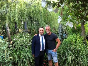 David Ginola aux grands Buffets