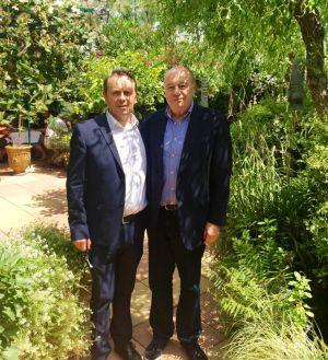 Jean-Michel Baylet aux Grands Buffets