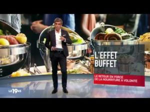 Retrouvez le replay du JT de 19h45 sur M6 avec les Grands Buffets !
