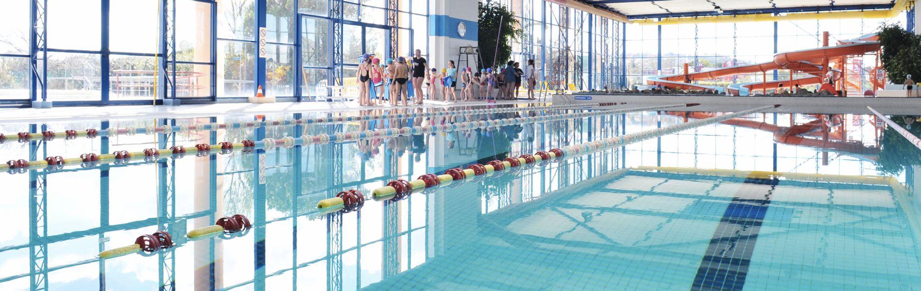 La piscine de l'espace de liberté