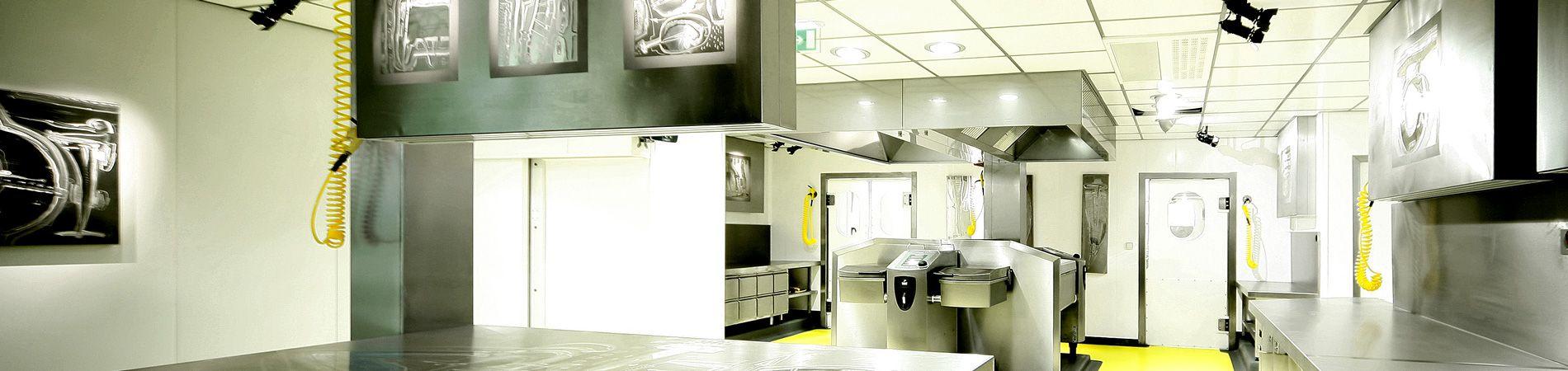 intérieur des cuisines