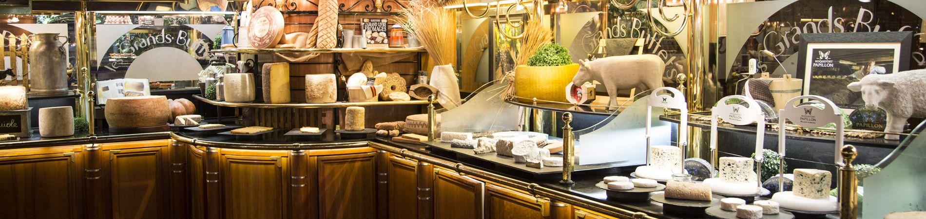 L'espace fromage des Grands Buffets