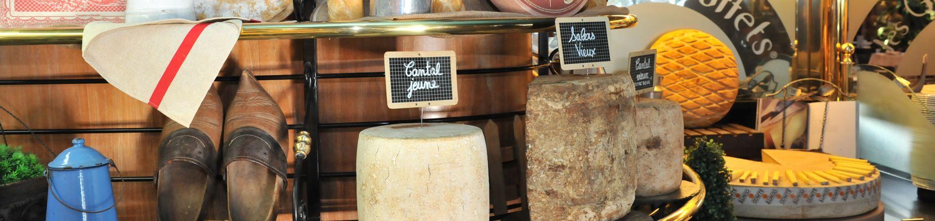 Tous les fromages des Grands Buffets