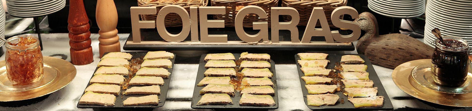 Le foie gras des Grands Buffets