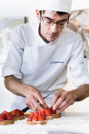 Sébastien Laurenceau notre chef pâtissier